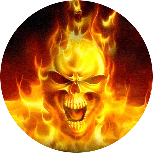 Fire Skull Live Wallpaper - Wallpaper Animated