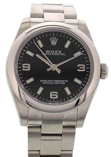 Rolex Oyster Perpetual Automático Viento Auto Reloj 177200 para Mujeres