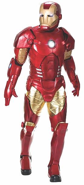 Rubies Disfraz Iron Man Edicion Suprema 810409: Amazon.es ...