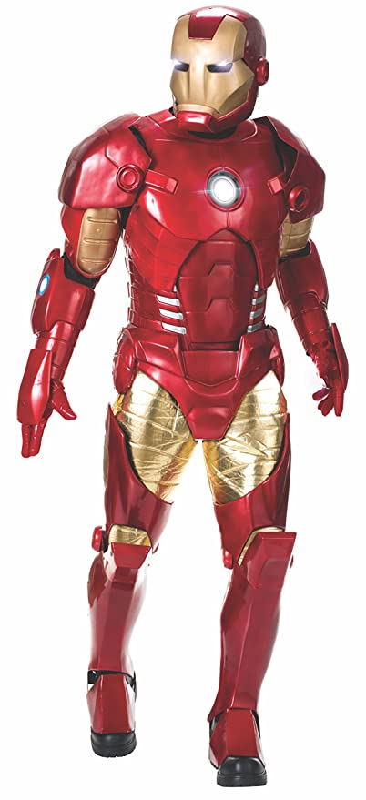 Rubies Disfraz Iron Man Edicion Suprema 810409: Amazon.es ...