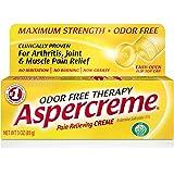Aspercreme Odor Free Topical Analgesic Cream, 3 Ounce