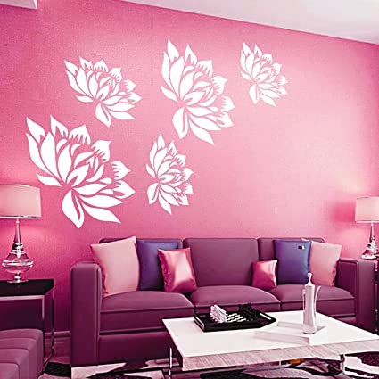 Kayra Decor Reusable Wall Stencil for Wall Decor/DIY Painting ...