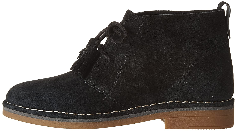 Hush Puppies Women's Cyra Catelyn Boot B01ACHVRXO 5 B(M) US Black Suede