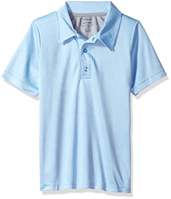 12ae9d3f702c Amazon.com: Cherokee Boys' Uniform Short Sleeve Performance Polo Shirt:  Clothing