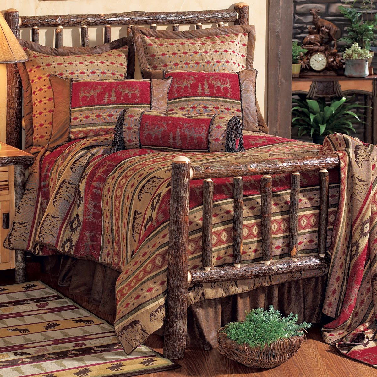 Amazon Adirondack Bed Set