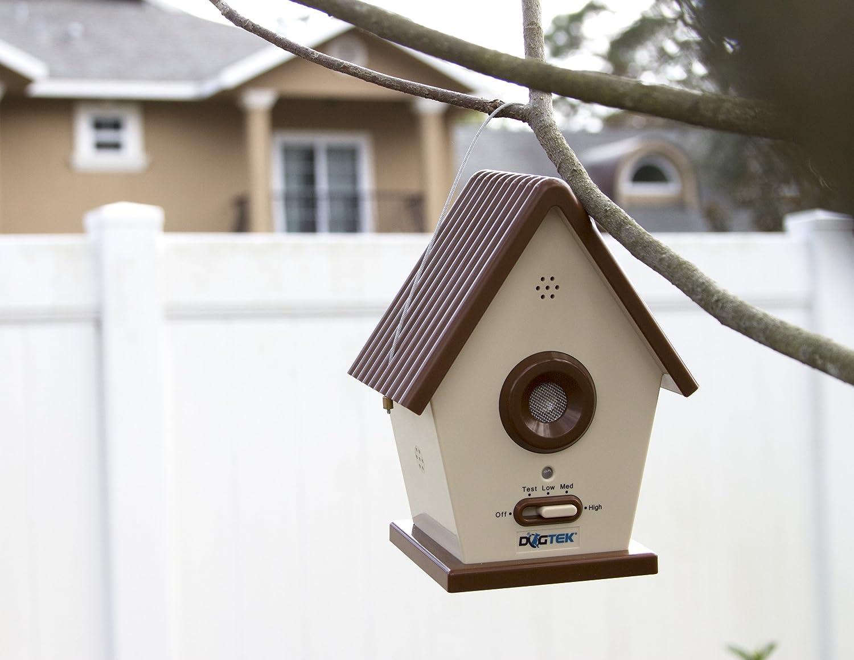 DOGTEK Sonic BirdHouse Bark Control Outdoor//Indoor