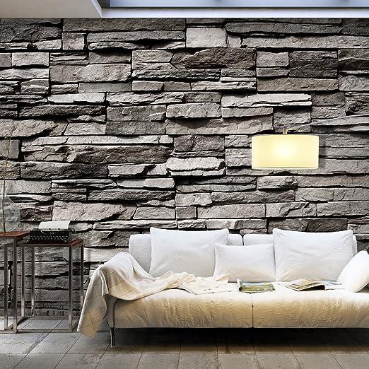 murando - Fototapete Steinwand 400x280 cm - Vlies Tapete - Moderne ...