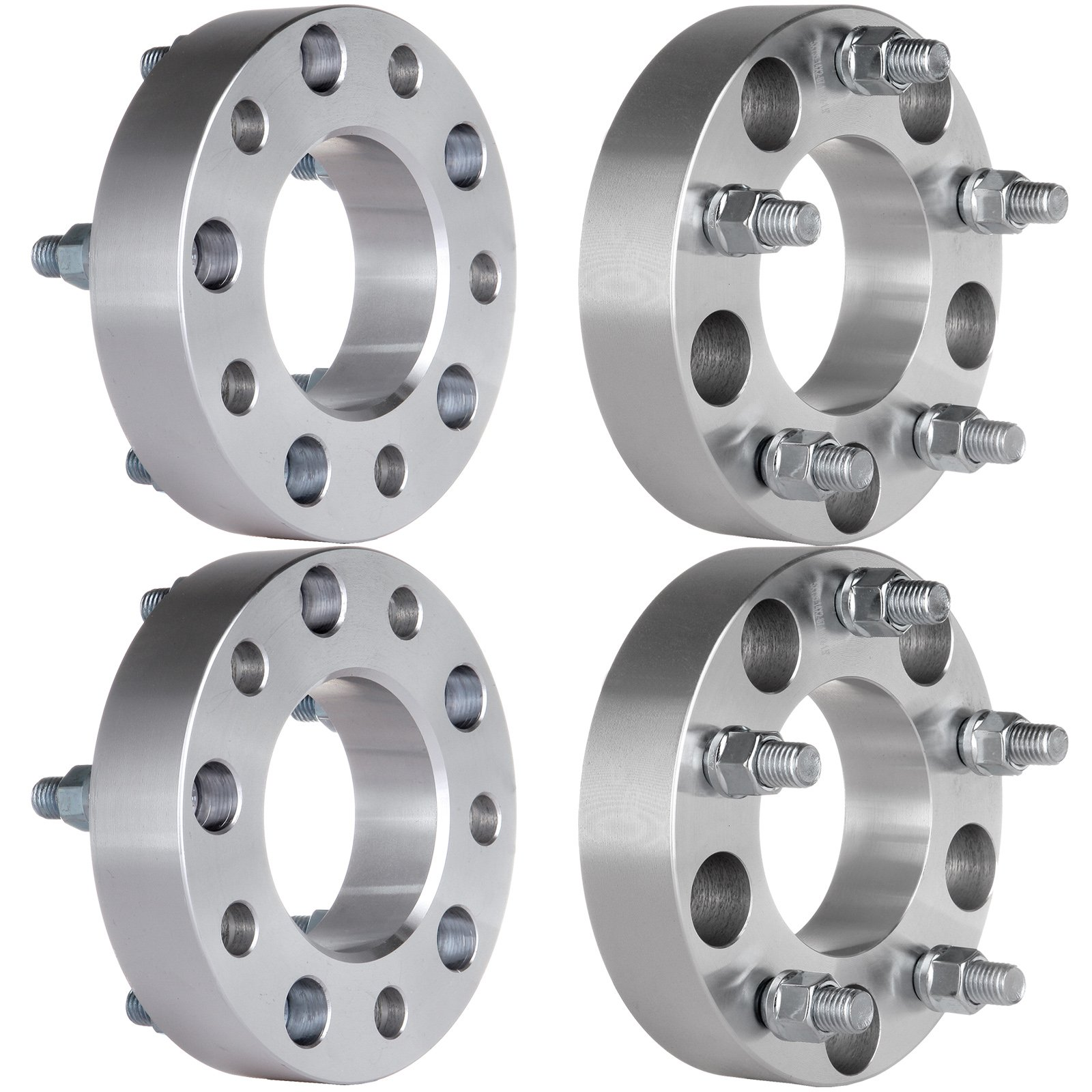 ECCPP Wheel Spacers 4PCS 5Lug 1.5'' Thick 5x135 to 5x135 1998 1999 2000 2001 2002 Ford Expedition F-150 Lincoln Navigator Wheel Spacer 14x2 Studs by ECCPP (Image #3)