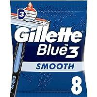 Gillette Blue 3 Men's Disposable Razors – 8 Razors