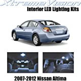 XtremeVision Nissan Altima Sedan 2007-2012 (10 Pieces) Cool White Premium Interior LED