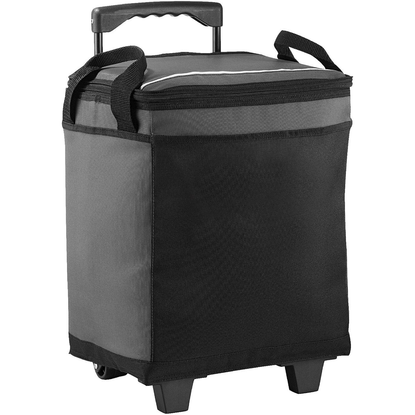 CALIFORNIA INNOVATIONS - Kühltasche mit Rollen für 32 Dosen - grau