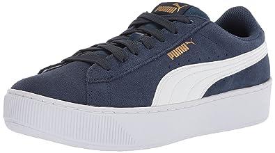 c97a82f8b112cb PUMA Girls Vikky Platform Kids Sneaker