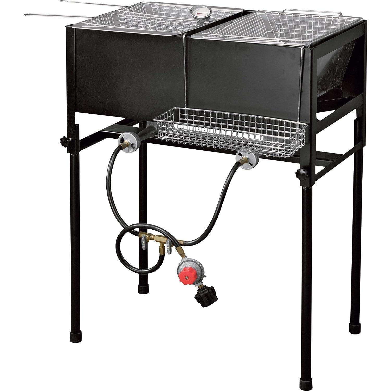 kitchener triple basket deep fryer outdoor fryer