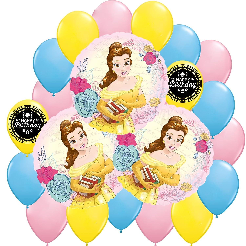 Amazon.com: Belleza y la Bestia Deluxe Party Globo Bundle ...