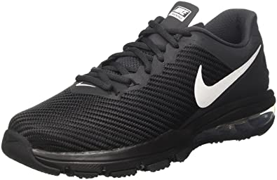 1a61d4418d Nike Mens Air Max Full Ride Training 1.5 Black Anthracite Mesh Trainers 8 US