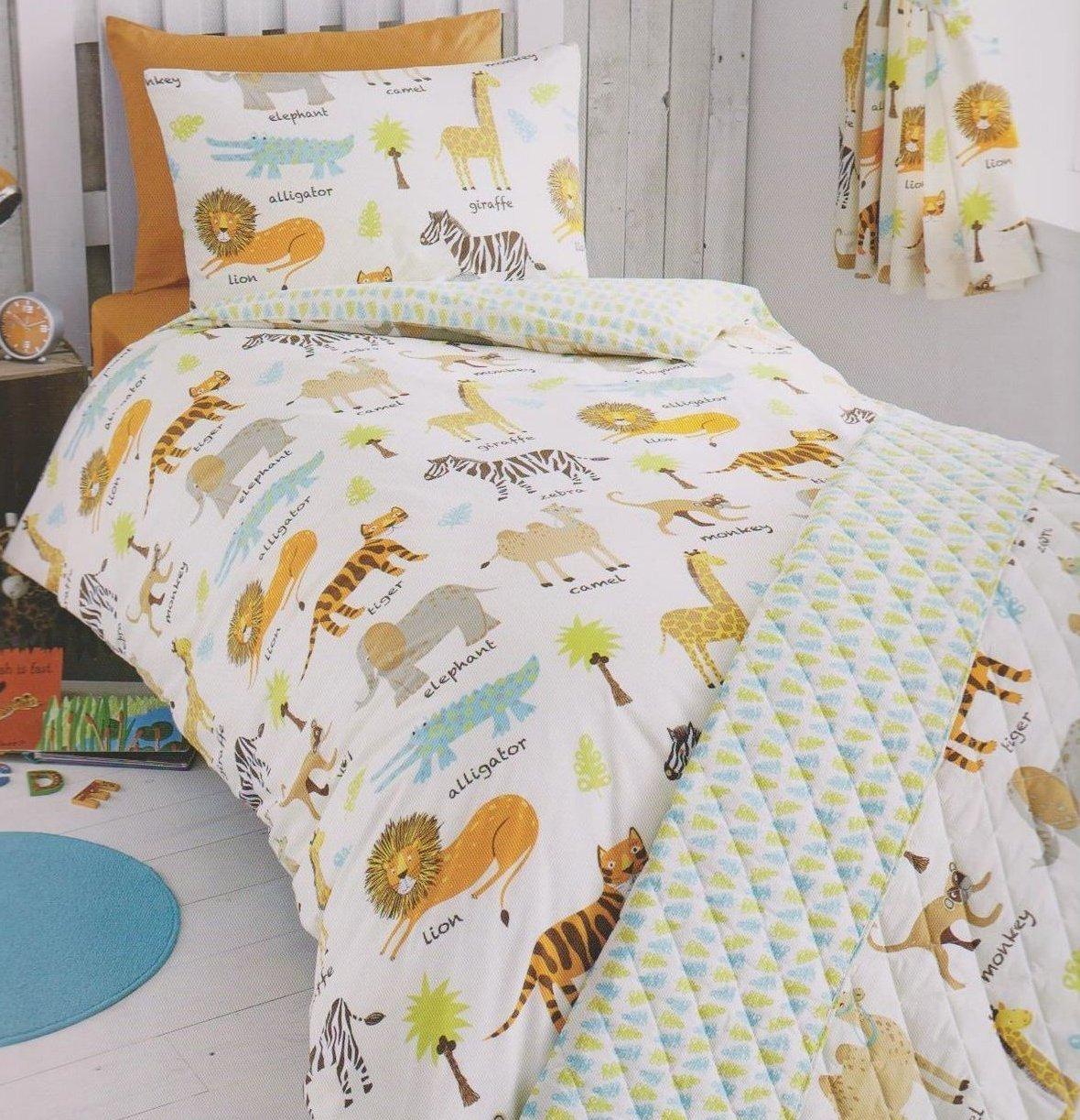 Single Bed Cheeky Monkey Childrens Duvet Cover Set