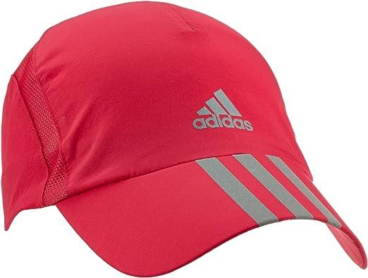adidas Kappe Run 3-Stripes Climacool - Gorra de Tenis, Color Rosa ...