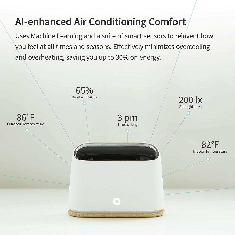 Ambi HomeIftttIosAndroid 2 EnabledWorks Controller With Ai Auto Climate Smart Conditioner Temp Air PoweredWifi AlexaSiriGoogle lKJuT5F1c3