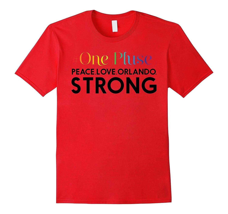Onepulse  - Peace Love Orlando strong Orlando united shirt-TD