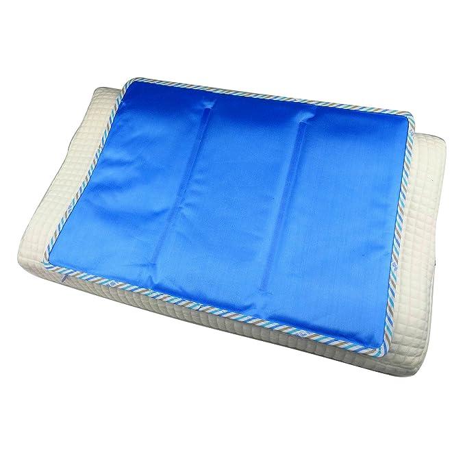 GENERAL ARMOR Kühlmatte Kühlkissen Isomatte - Reduziert Hitzewallungen, Fieber, Kopfschmerzen und Verspannungen - Matte zur R