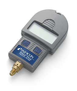 """INFICON 710-202-G1 Pilot Plus Digital Vacuum Micron Gauge with 1/4"""" Male Refrigerant Flare Connection"""