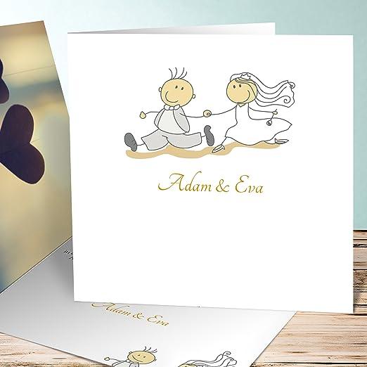 Hochzeitseinladungen Selber Gestalten Weg Ins Gluck 200 Karten