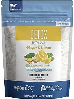 Amazon com : Metabolism Bath Salt 32 Ounces Epsom Salt with