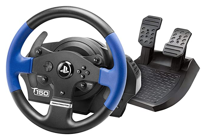 6067ebf1fd1 Thrustmaster: Racing Wheel for PS4/PS3/PC - VG T150 Force Feedback (