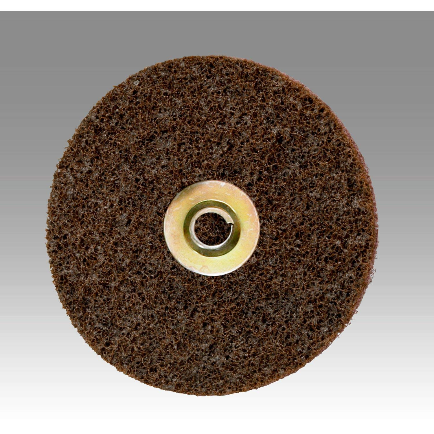 Cubitron II Scotch-Brite Surface Conditioning Disc for Sanding – Metal Surface Prep – Hook and Loop – Aluminum Oxide – Very Fine Grit – 7 diam. – Pack of 10, Model:SC-DH 81pTkjpw0CL