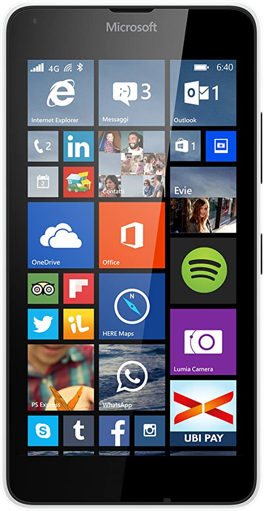 Microsoft Lumia 640 - Smartphone Libre Windows Phone (Pantalla 5 ...
