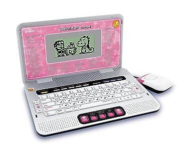 VTech 80-109794 - Ordenador portátil con juegos educativos, color rosa [importado de Alemania]: Amazon.es: Electrónica