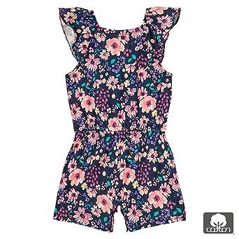 Amazon.com: OFFCORSS Baby Girl Ruffle Sleeve Romper Jumpsuit Newborn ...