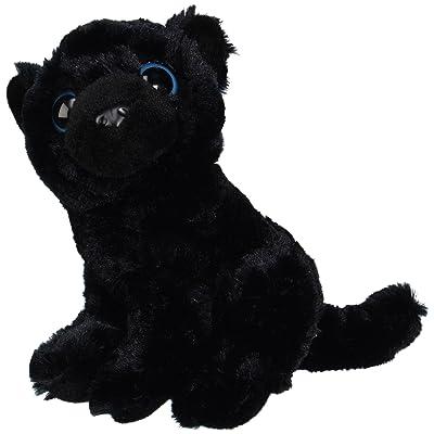 "Fiesta Toys Sitting Black Panther with Big Eyes Plush Stuffed Animal Toy, 9"": Toys & Games"