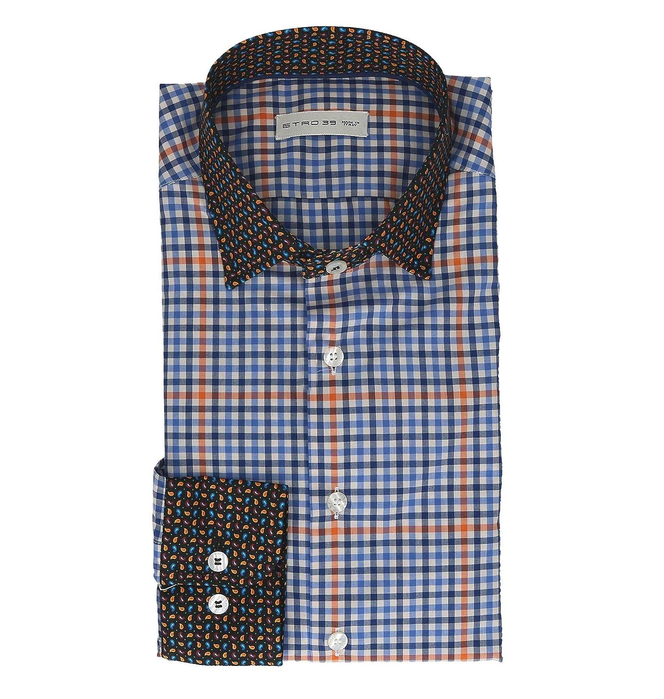 a2d564a837 Etro Men's 129106017200 129106017200 129106017200 Multicolor Cotton Shirt  0d4800
