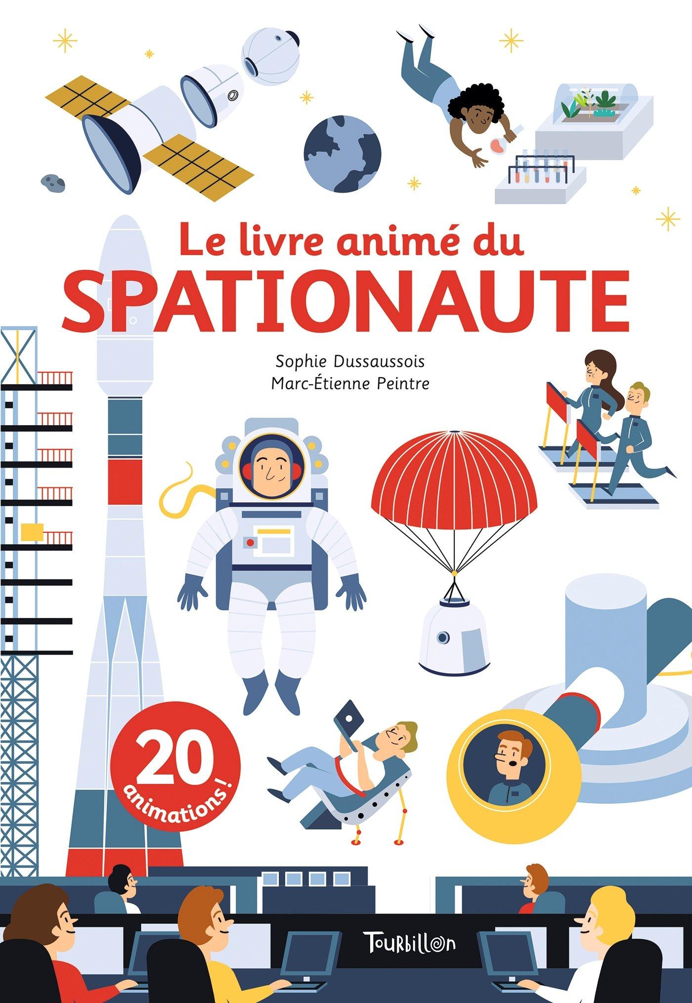 Livre Anime Du Spationaut Amazon Ca Sophie Dussaussois
