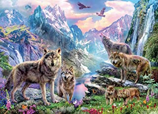 product image for Wolves Spring Wolves Puzzle - 1000Piece
