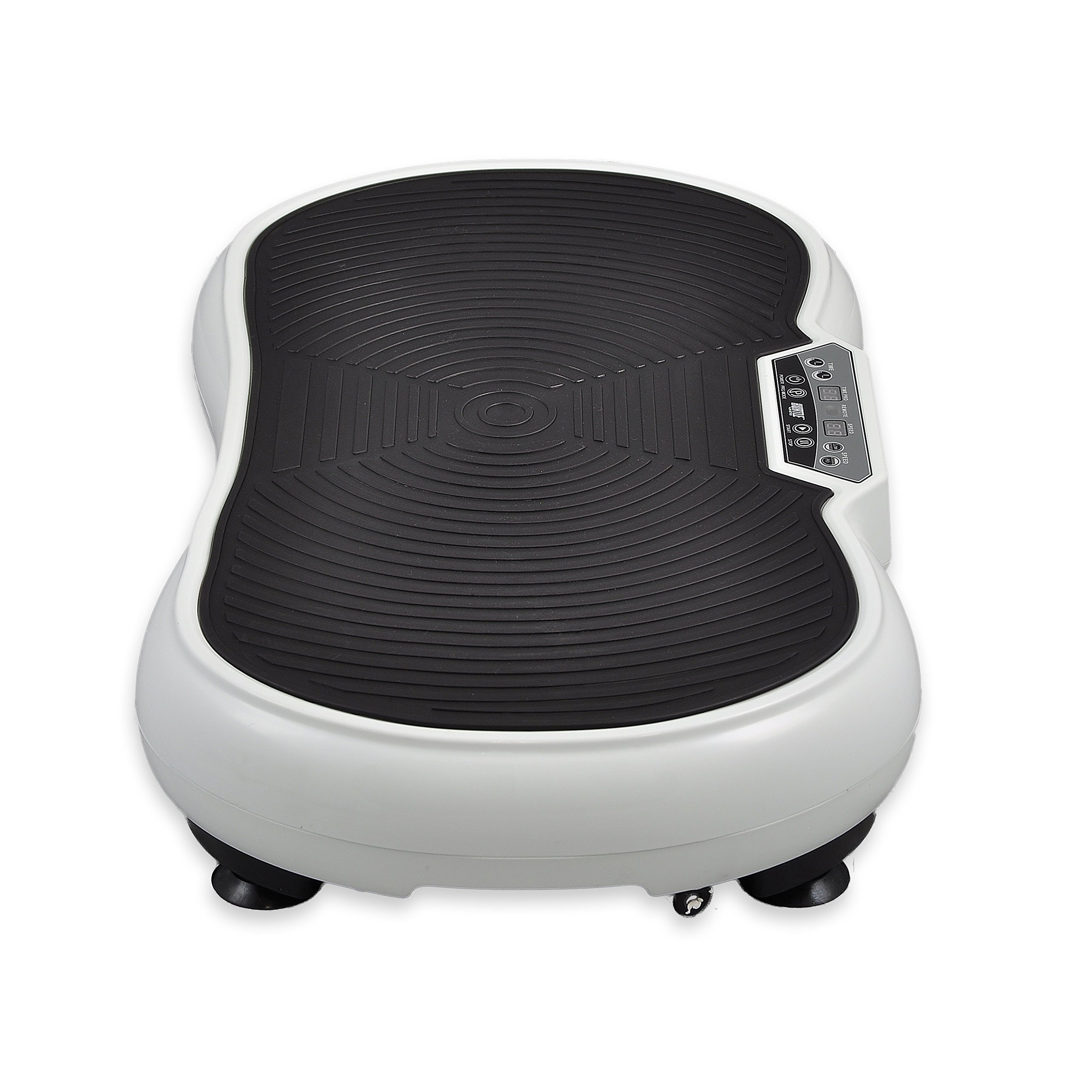 Hurtle Fitness Vibration Platform Workout Machine | Exercise Equipment For Home | Vibration Plate | Balance Your Weight Workout Equipment Includes, Remote Control & Balance Straps Included (HURVBTR30) by Hurtle (Image #2)