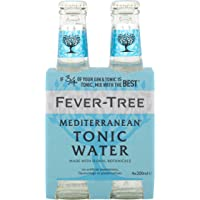 Fever-Tree Mediterranean Tonic Water 4x200 ml (Pack of