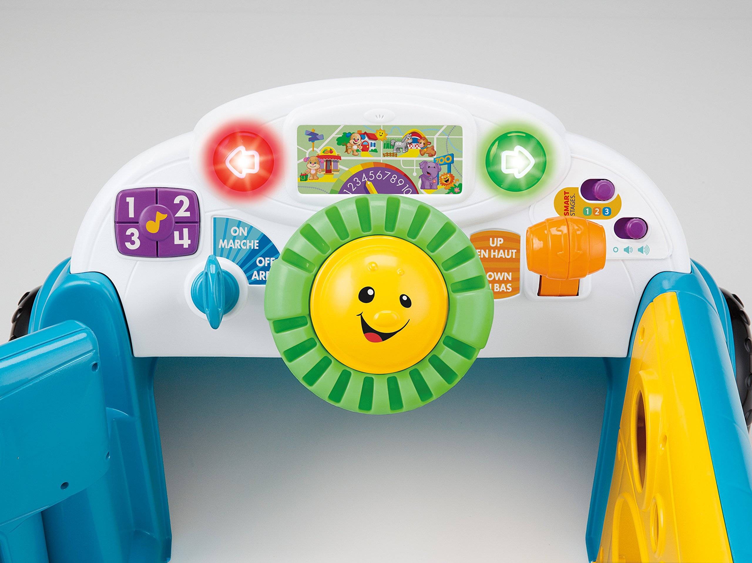 Fisher-Price Laugh & Learn Smart Stages Crawl Around Car, Blue by Fisher-Price (Image #7)