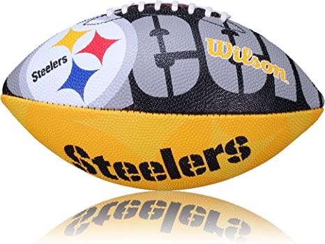 Wilson Football NFL Junior Steelers Logo Junior - Balón de fútbol ...