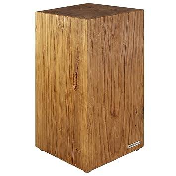 Unterschiedlich NATUREHOME Baumstamm Hocker Massiv-Holz Natur geölt Eiche  YA11