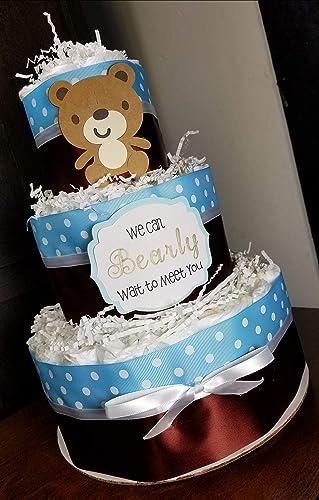 Amazon Teddy Bear Diaper Cake