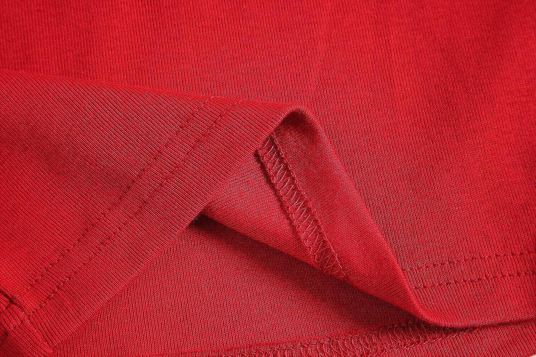 Family Feeling Striped Boys Girls 2 Piece Christmas Pajamas Set 100/% Cotton Pjs CC-FD-TW-Red