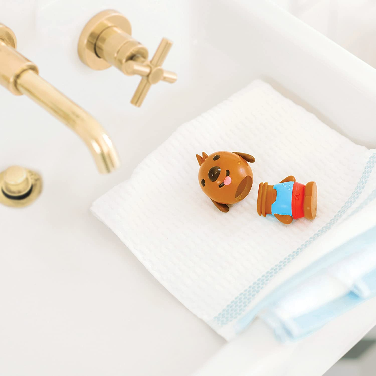 Gift Pack Easy Clean Bath Squirters and Floaties Sago Mini BPA and Mold Free