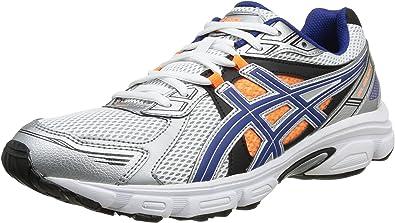 Asics Gel Galaxy 7 - Zapatillas de Running para Hombre, Color Wht/Blue/FL.Oran, Talla 40.5: Amazon.es: Zapatos y complementos
