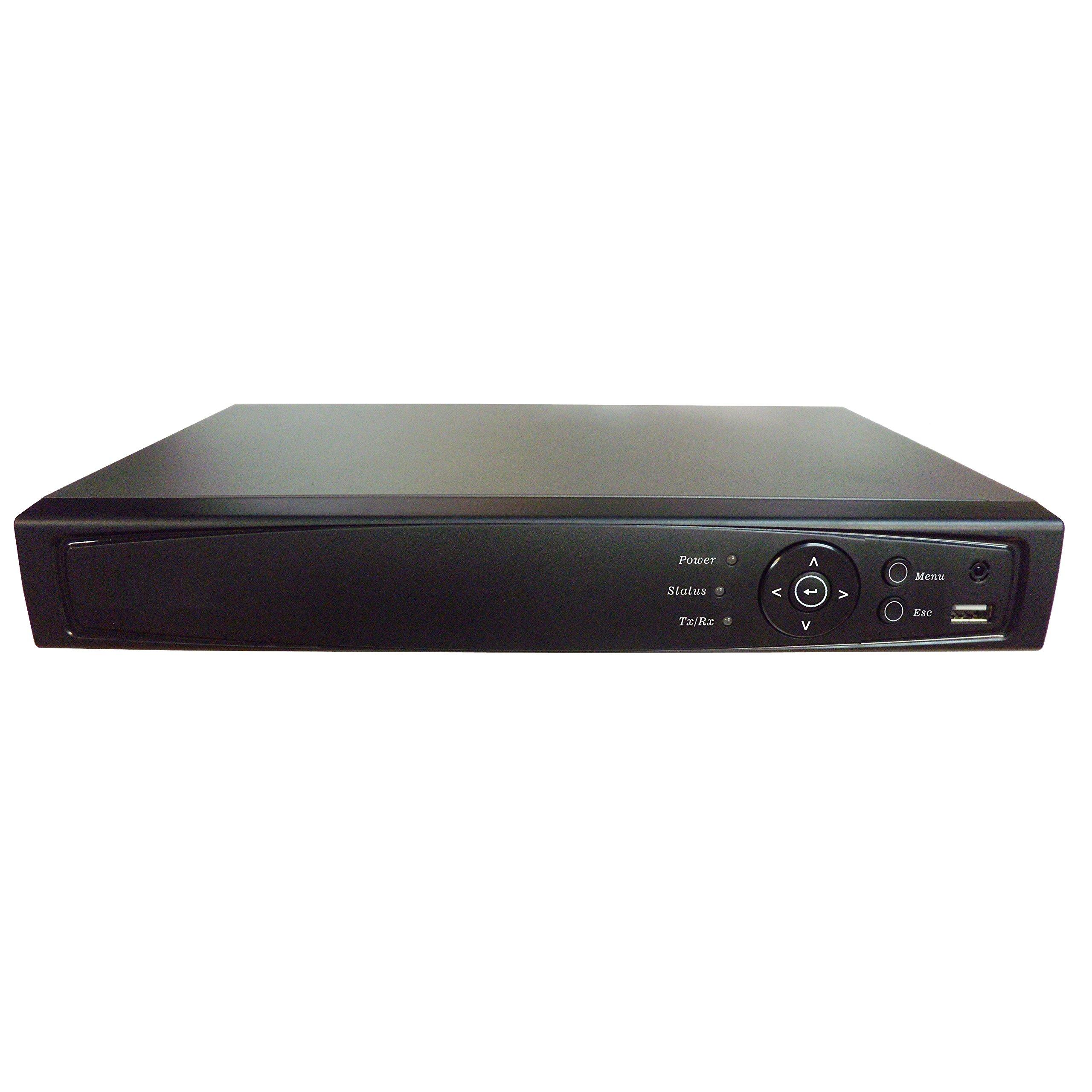 Surveillance Digital Video Recorder 8CH HD-TVI/CVI/AHD H264 Full-HD DVR 1TB HDD HDMI/VGA/BNC Video Output Cell Phone APPs for Home & Office Work @1080P/720P TVI&CVI, 1080P AHD, Standard Analog& IP Cam by 101 AV Inc (Image #2)