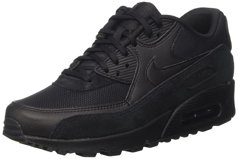 Nike Air Max 90, Zapatillas Para Mujer 38 EU|Negro (Black)