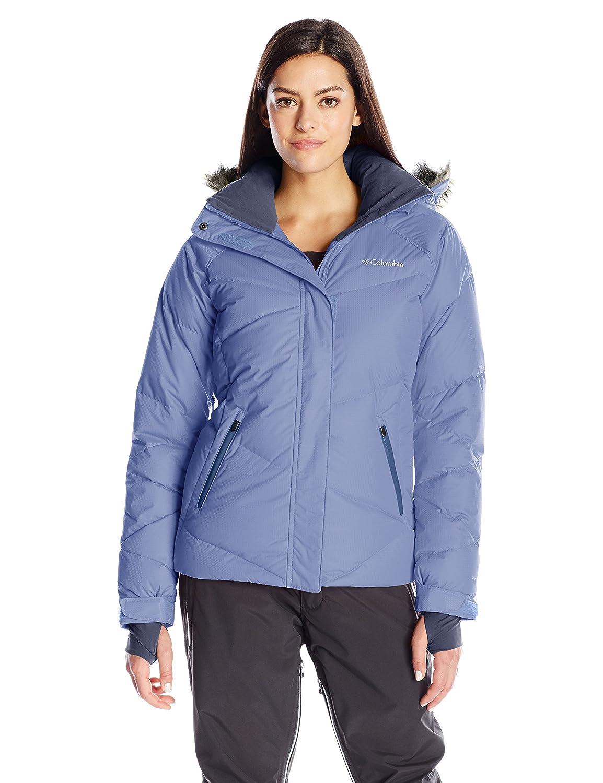 71001d4b7be Columbia Women s Lay D Down Waterproof Jacket - Atoll Dobby
