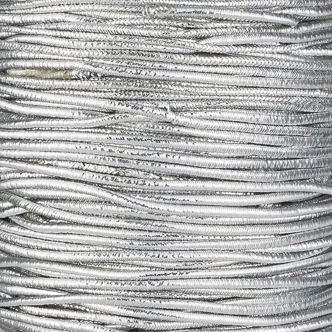 e-kurzwaren 5m Cuerda Hilo El/ástico 1mm//2mm//2,5mm//3mm//4mm//5mm Di/ámetro Goma Elastica Cord/ón para Collar Pulsera Abalorios Costura Manualidades 32 Colores