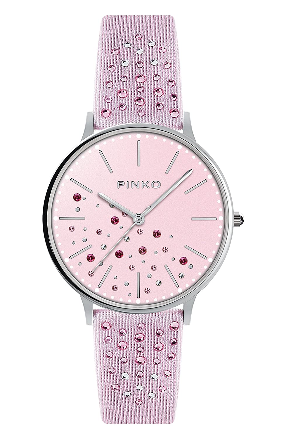 Watch Pinko Stars Nespolo Woman Steel Pink Swarovski